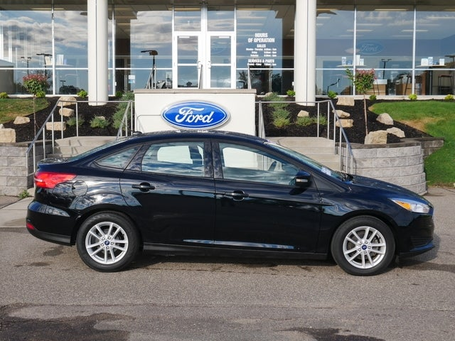 Certified 2018 Ford Focus SE with VIN 1FADP3F27JL211306 for sale in Minneapolis, Minnesota