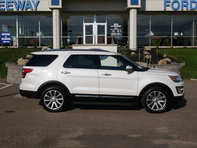 Certified 2017 Ford Explorer Limited with VIN 1FM5K8FH8HGC05642 for sale in Minneapolis, Minnesota