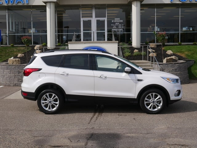 Certified 2019 Ford Escape SEL with VIN 1FMCU9HD6KUA63415 for sale in Minneapolis, Minnesota