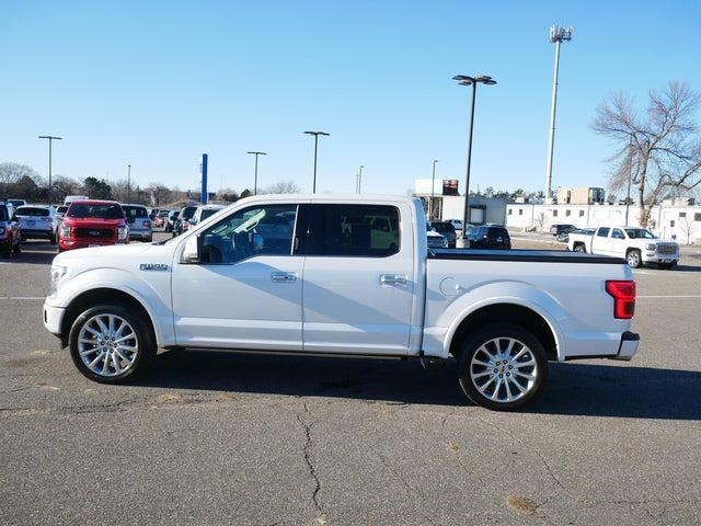 Certified 2019 Ford F-150 Limited with VIN 1FTEW1EG7KFA35859 for sale in Minneapolis, Minnesota