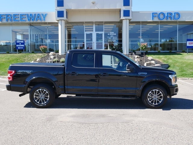 Certified 2019 Ford F-150 XLT with VIN 1FTEW1EP3KFA61911 for sale in Minneapolis, Minnesota