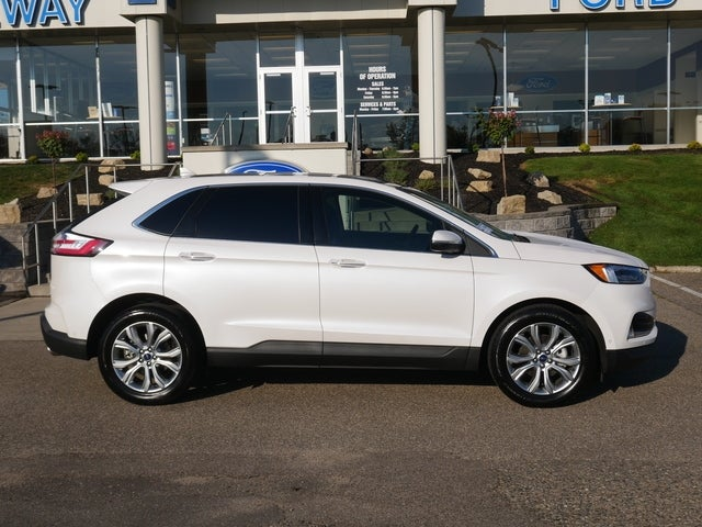 Certified 2019 Ford Edge Titanium with VIN 2FMPK3K96KBB68812 for sale in Minneapolis, Minnesota