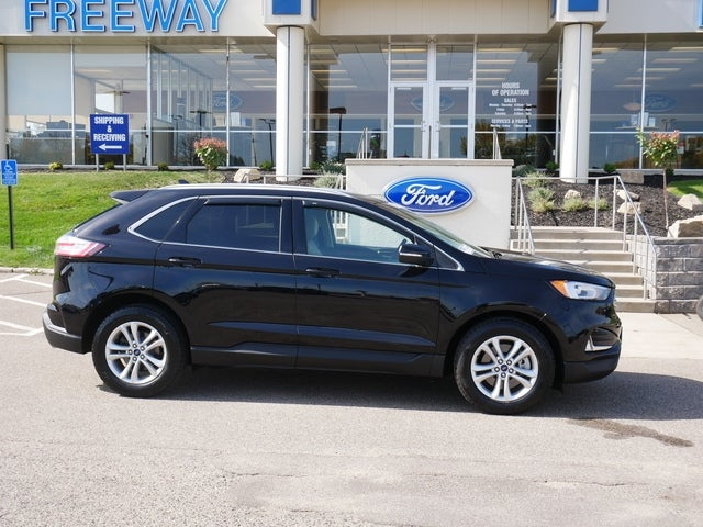 Used 2019 Ford Edge SEL with VIN 2FMPK4J90KBB13327 for sale in Minneapolis, Minnesota