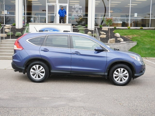 Used 2014 Honda CR-V EX with VIN 2HKRM4H50EH698669 for sale in Minneapolis, Minnesota